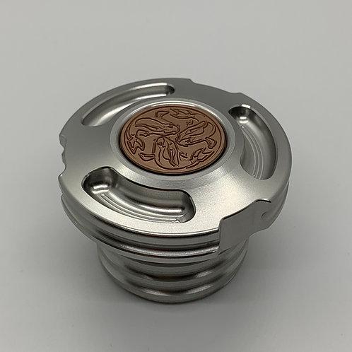 JSK Harley-Davidson Gas Cap ( Silver Anodized )