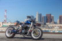 JSK Moto Cobalt Storm based on Harley Davidson Sportster