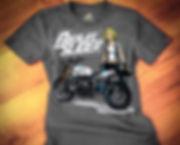 JSK Moto Chocolate Slider Tshirt