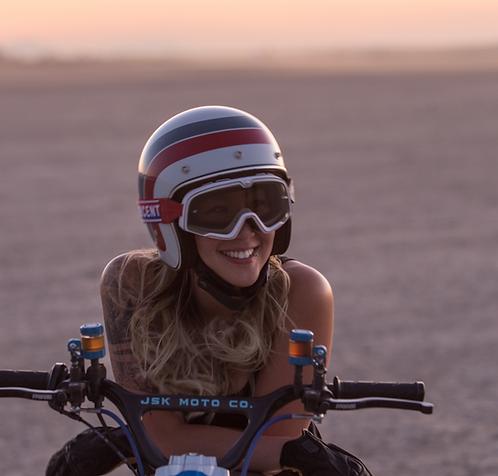 JSK Moto Co 3/4 Helmet