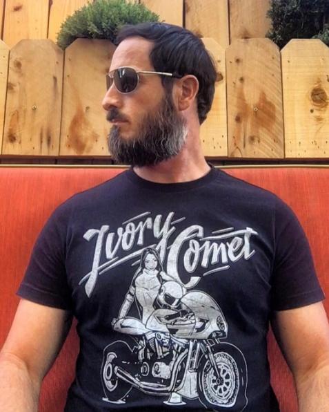 Ivory Comet T-Shirt