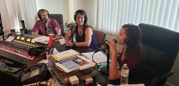 Ray, Erica, and Lisa
