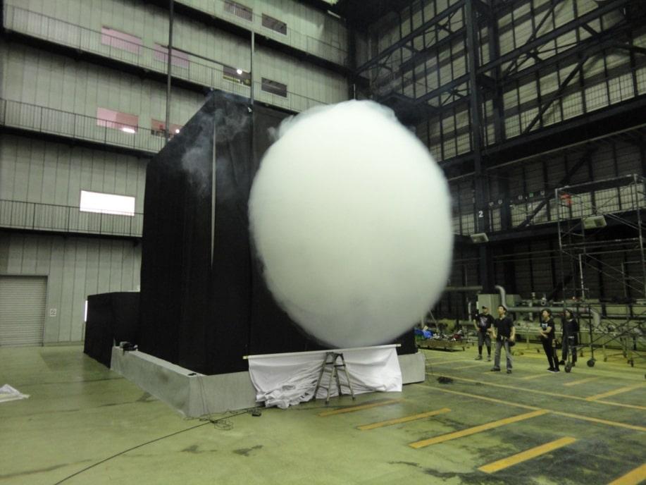 巨大空気砲