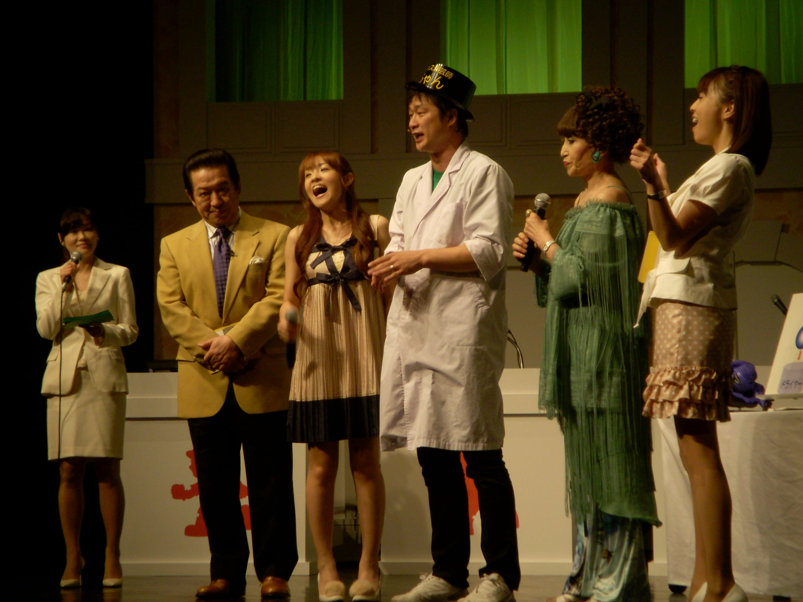 黒柳徹子さん,草野仁さん,大沢あかねさん,小林麻耶さん