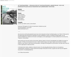 Boek: Het Waterloopbos