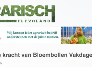Vrijwilligers kracht van Bloembollen Vakdagen Flevoland