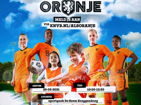 "Oranjefestival ""Ga voetballen als Oranje"""