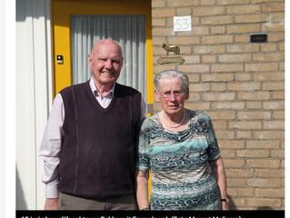 Ontmoeting op de kermis leidt tot zestig jaar samenwonen