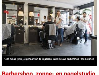 Barbershop, nagel- en zonnestudio nieuw bij kapsalon Tulp Emmeloord