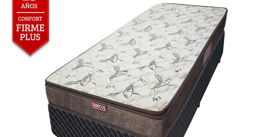 Conjunto Sommier Max Density 45 Pillow (1 plaza)