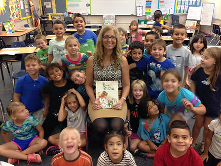 Author talk at Casselberry Elementary School