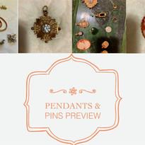 Pendants & Pin Preview