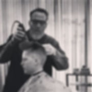 Mike gives a 1950's Pomp haircut!