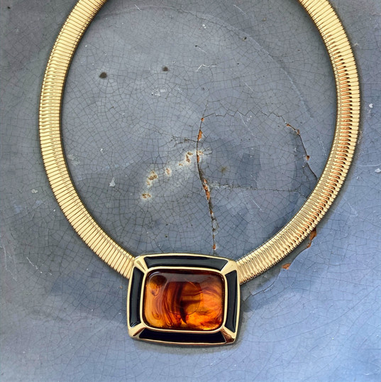 Topaz Modern Necklace
