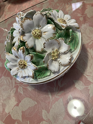 Bianca Fiore Covered Bowl