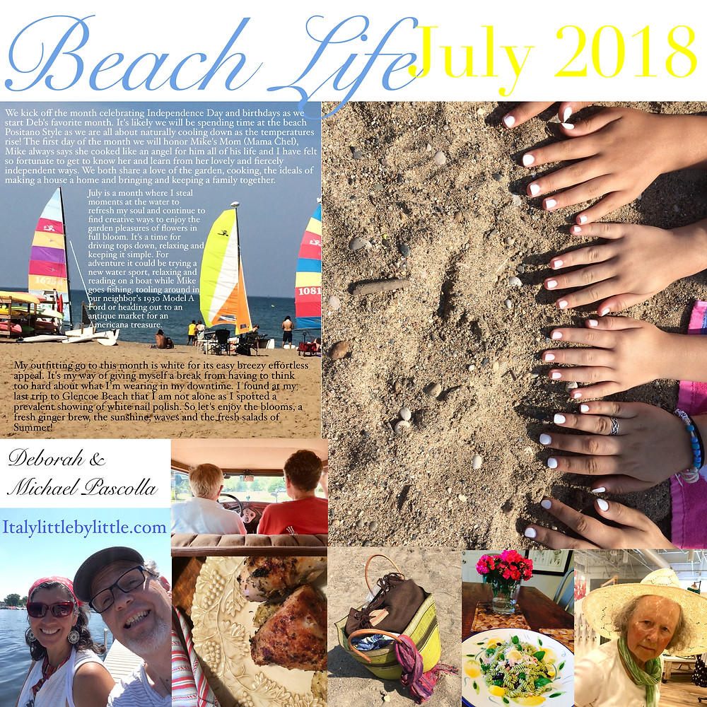 What's happening in July for the Pascolla Family