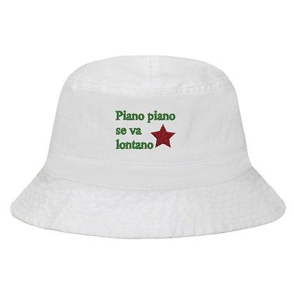 Piano Piano Bucket Hat