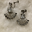 Thumbnail: Madonna Rhinestone Fan Earrings