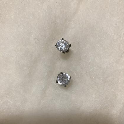 Faux Diamond Studs