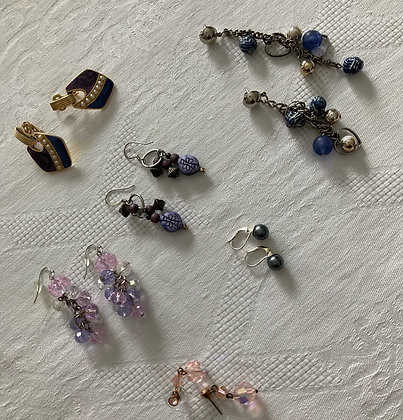 Luna Earring Collection (set of 6)