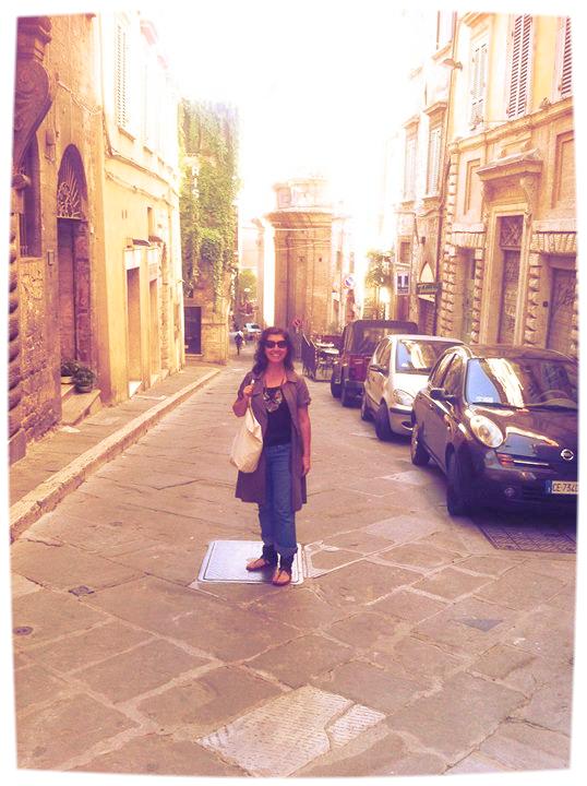 Deborah Hernandez-Pascolla in Tuscany, Italy.