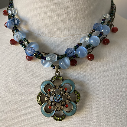 Gypsy Shield Necklace (also shown in collection photo)
