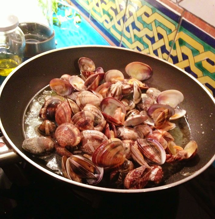 Clams for pasta