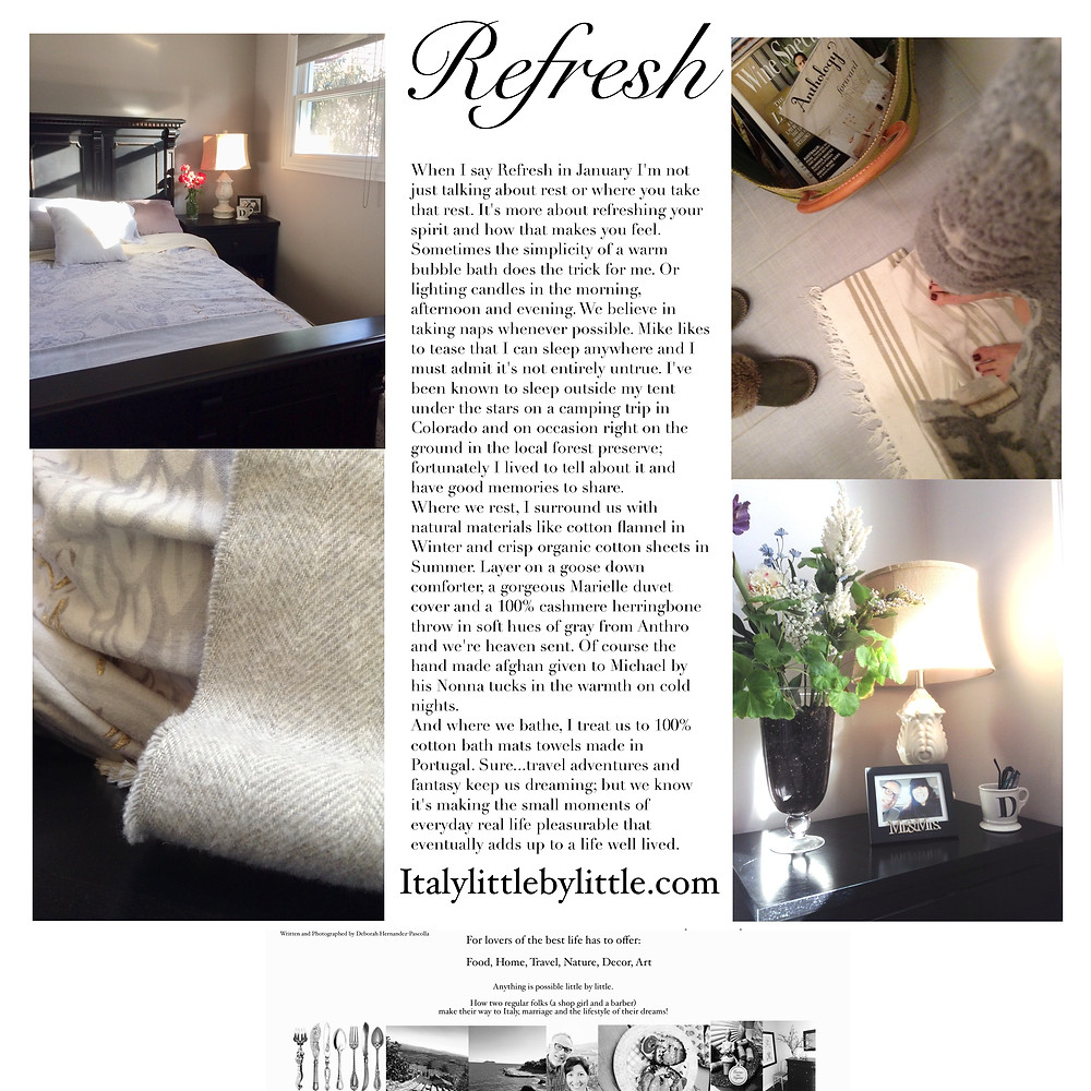 Refresh - let simplicity be your guide this January