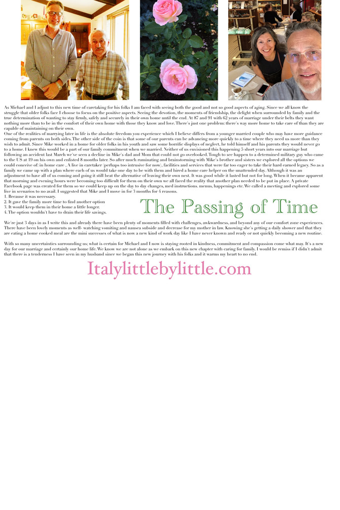 The Passing of Time