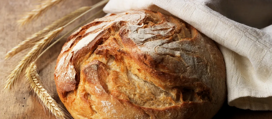 baking bread and pulling stories