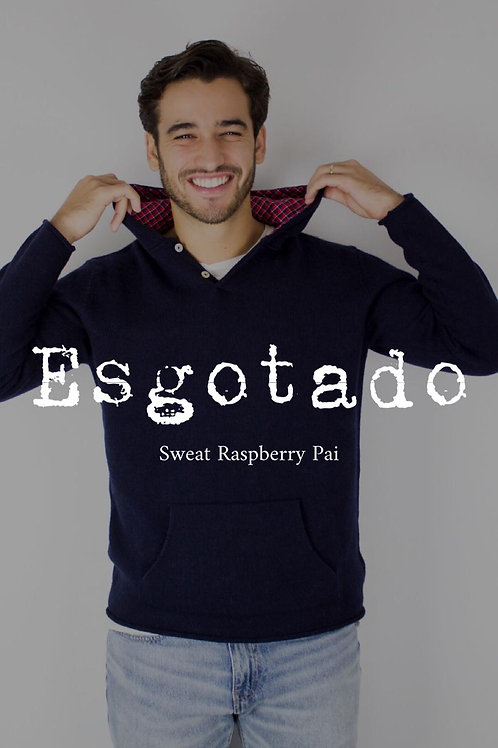 Sweat Lã com Caxemira Raspberry