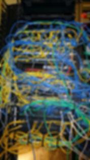 diversified telecom server rack clean up before
