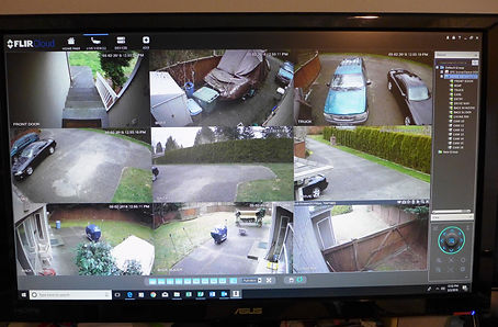 remotely viewing surveillance cameras on computer