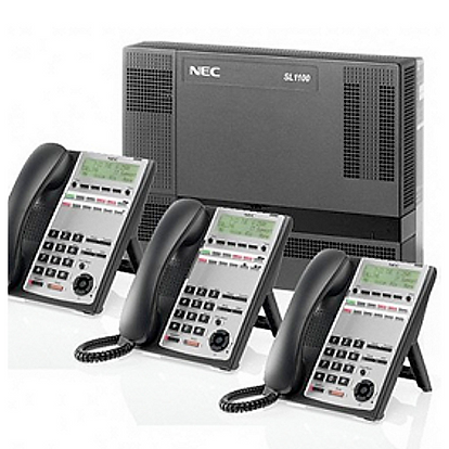 NEC SL1100 digital and VoIP telephone system