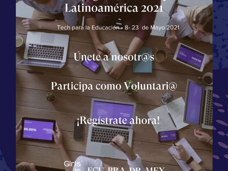 Girls in Tech presenta Hacking for Humanity 2021