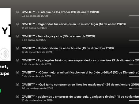 ¡Escucha QWERTY en Spotify, Apple o Google Podcasts!