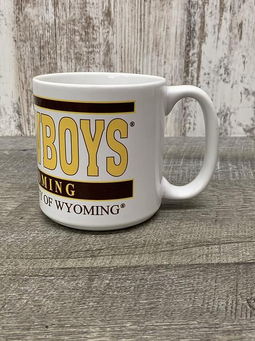 Cowboys mug with bucking horse