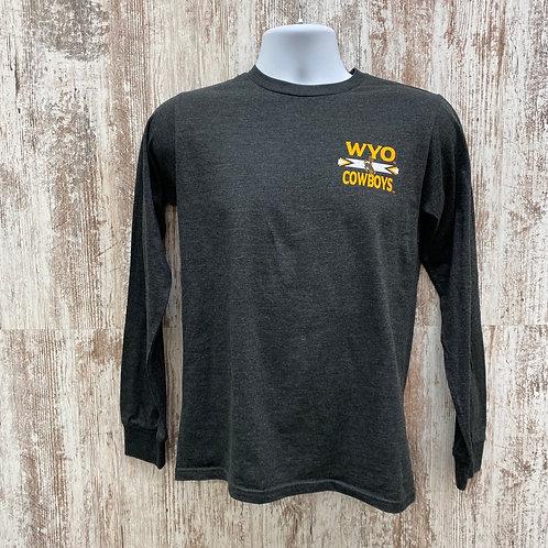 CI Sport Men's Wyo Cowboys Long Sleeve Tee Shirt