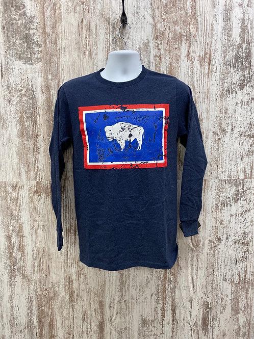 Buffalo flag tee