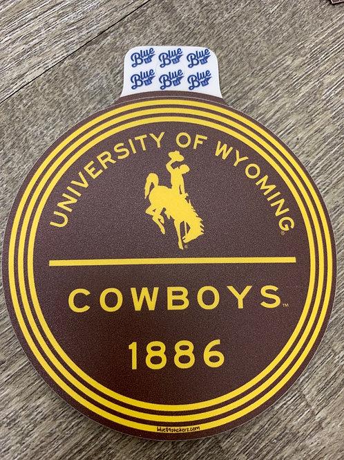University of Wyoming Decal