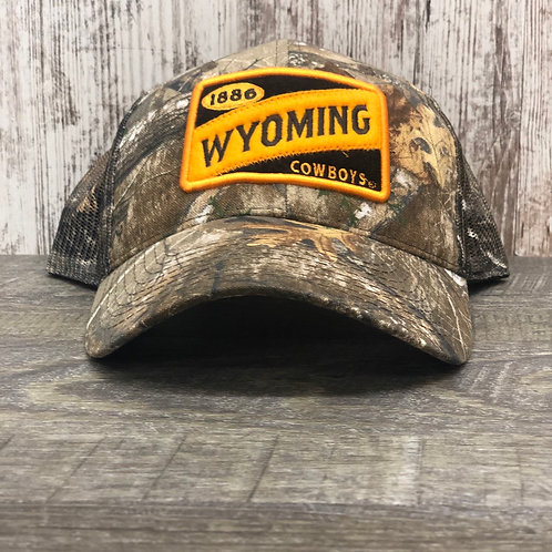 Ouray Men's Realtree Wyoming Cowboys Hat