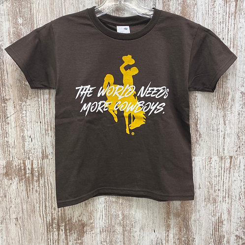 The World Needs mlMore Cowboys Tee Shirt