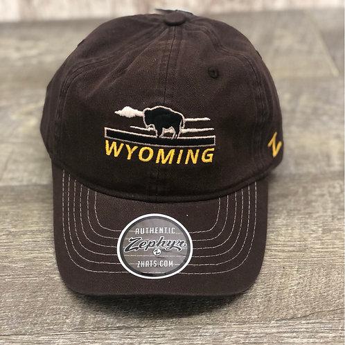 Zephyr Wyoming Buffalo Hat