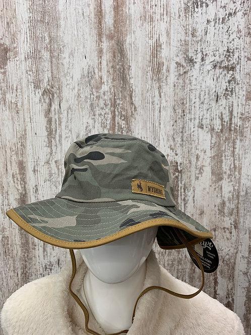 Camo Wyoming Bucket Hat