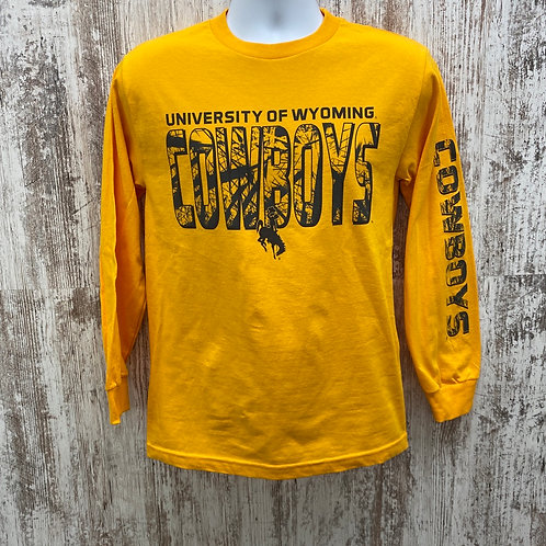 CI Sport Men's University of Wyoming Long Sleeve Tee Shirt