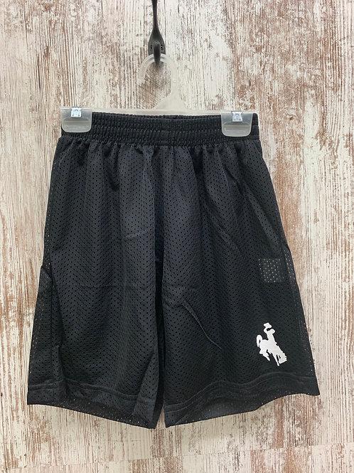 Gym Shorts with Bucking Horse