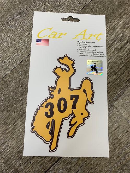 307 Bucking Horse Decal