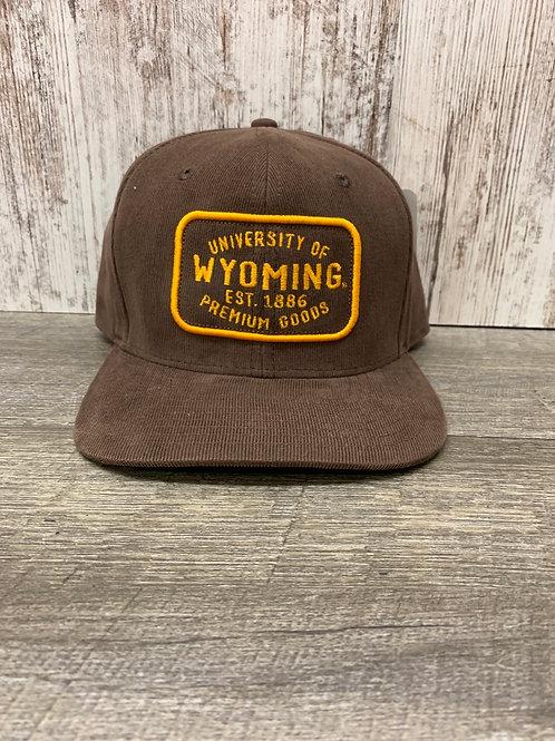 University of Wyoming Cap