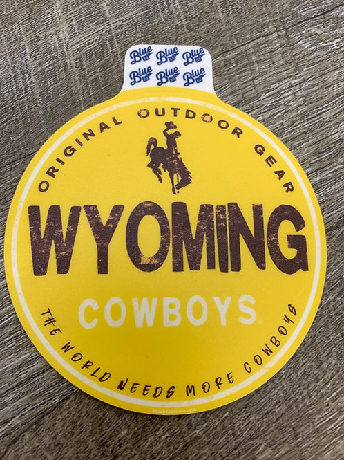 The World Needs More Cowboys Decal