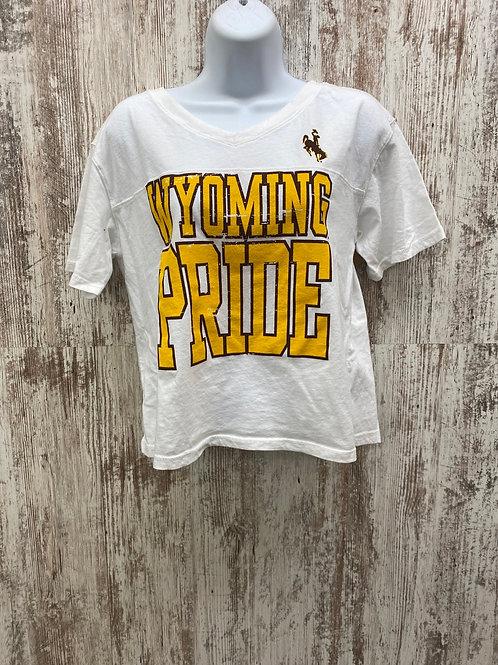 Wyoming pride crop top